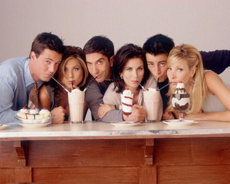 Provavelmente você não vai ter Friends como esses.